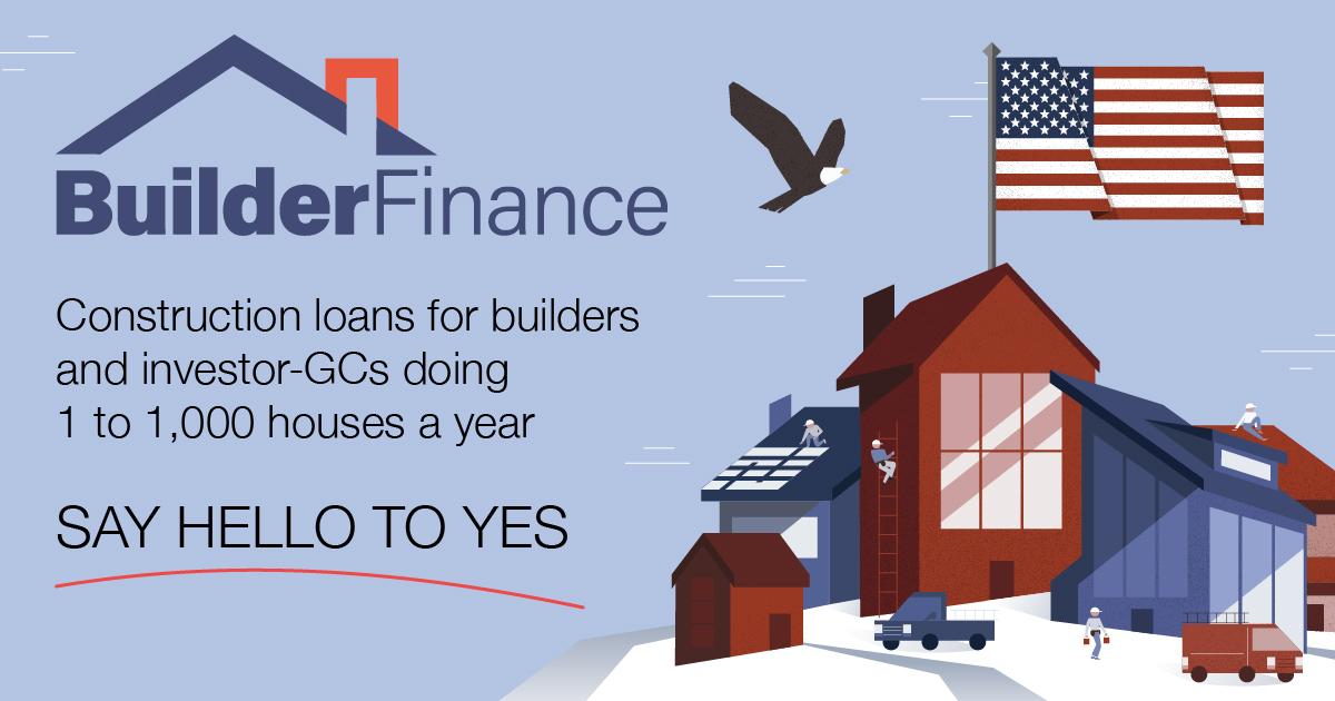 Construction Loans   BuilderFinance